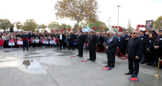 Gazi Mustafa Kemal Atatürk Kartal'da törenlerle anıldı