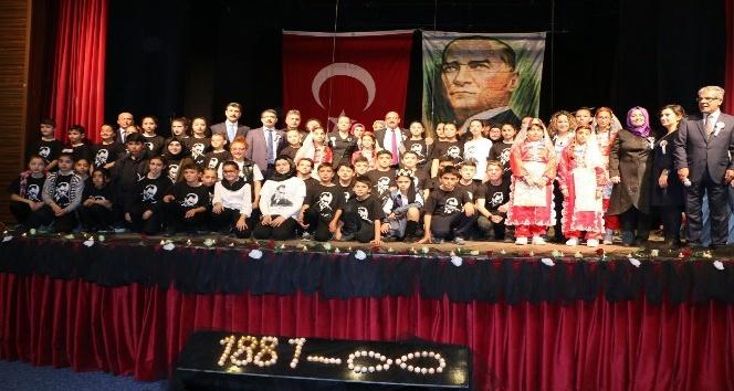 Atatürk ebediyete intikalinin 79. yılında Gölbaşı'nda anıldı