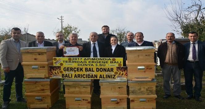 Ergene balı Türkiye birincisi dünya üçüncüsü
