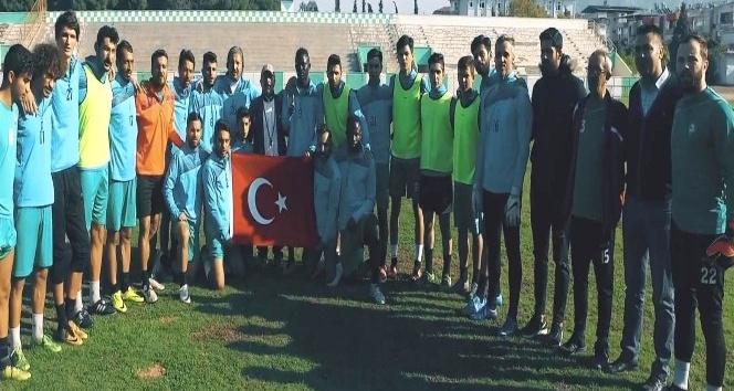 Yeşil-beyazlılar Atatürk'ü andı