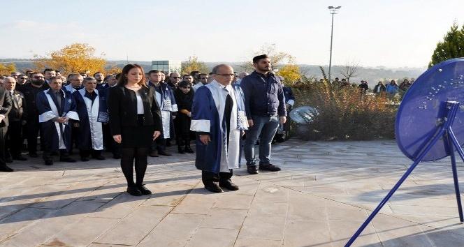 Uşak Üniversitesi'nde 10 Kasım Atatürk'ü Anma Günü etkinlikleri