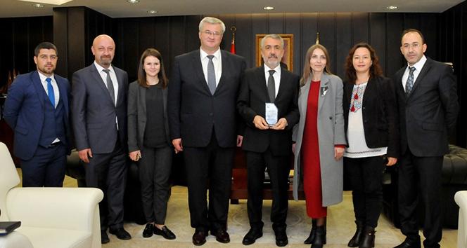 OMÜ ile Ukrayna arasında iş birliği kurulacak