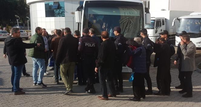 Sigara kaçakçılığı zanlısı 12 kişi tutuklandı
