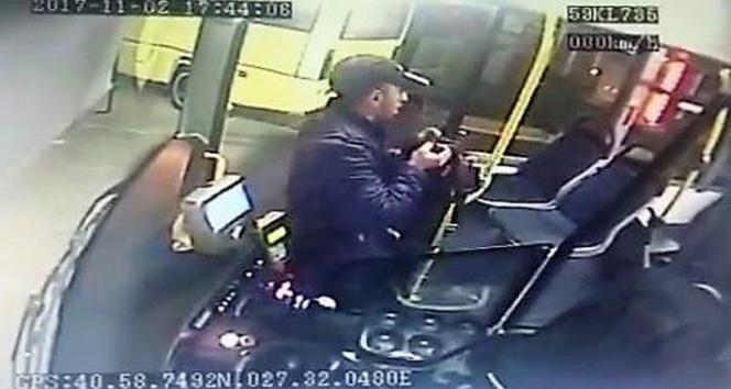Halk otobüsünde şoförün parasını çalan şahıs yakalandı