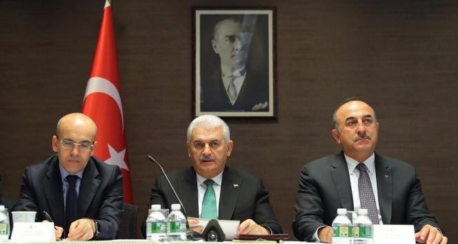 Başbakan Yıldırım, Türk ve Akraba Toplulukları temsilcileriyle bir araya geldi