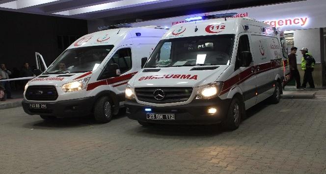 Elazığ'da silahlı yaralama