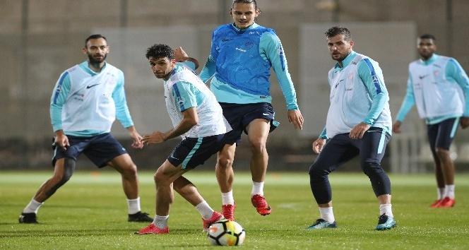 A Milli Takım, Arnavutluk maçı hazırlıklarına başladı
