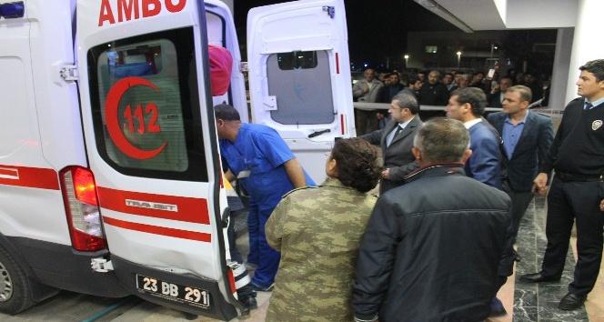 El bombası kazaen patladı: 2 asker hafif yaralı