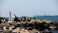 İskenderunda amatör balıkçılar birinci olmak için yarıştı