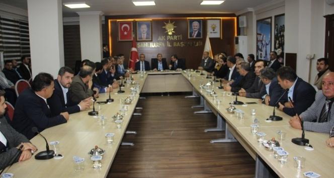 AK Parti Genel Başkan Yardımcısı Mehdi Eker Şanlıurfada