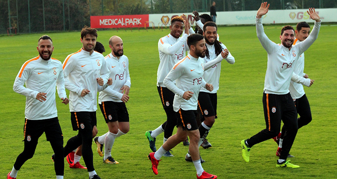 Galatasaray, Başakşehir maçı hazırlıklarını sürdürdü