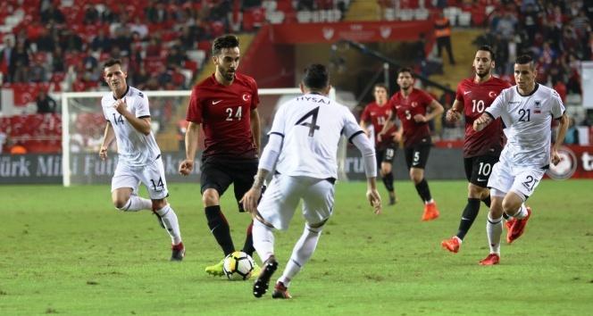 Türkiye 2-3 Arnavutluk|Türkiye Arnavutluk Maçı Geniş Özeti