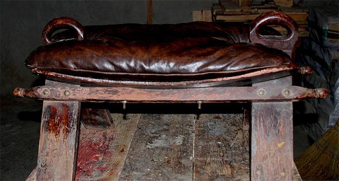Bu koltuğa oturmak cesaret ister! Bir dönemin tarihine ışık tutuyor