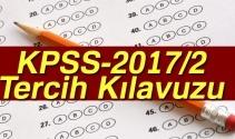 KPSS-2017/2 Tercih Kılavuzu |ÖSYM, KPSS 2017/2 tercihleri