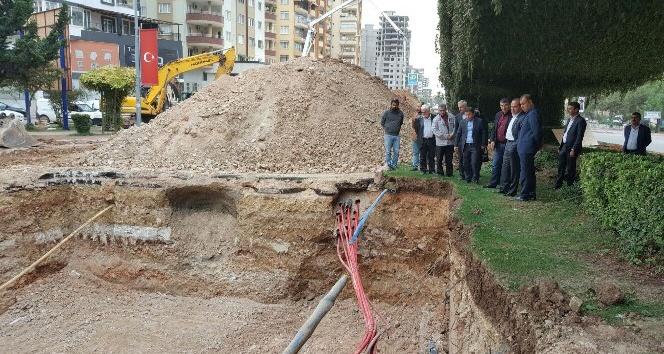 Başkan Sözlü'den Alparslan Türkeş Bulvarı'nda yerinde inceleme
