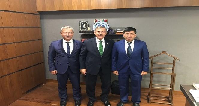 Başkan Yaralı doğalgaz için Ankara'da temaslarda bulundu