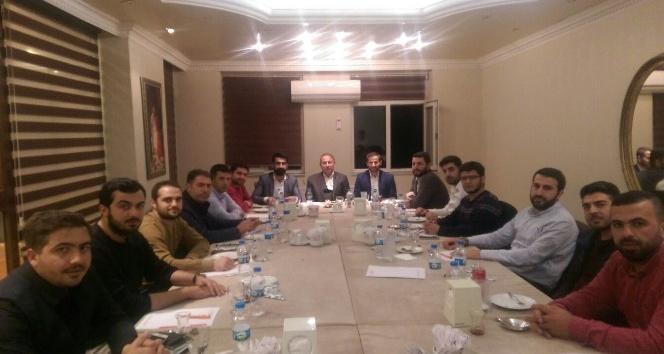 AK Parti İl Başkanı Dündar, genç STK temsilcileriyle bir araya geldi