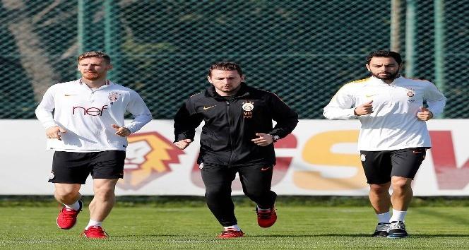 Galatasaray'da Medipol Başakşehir hazırlıkları sürüyor