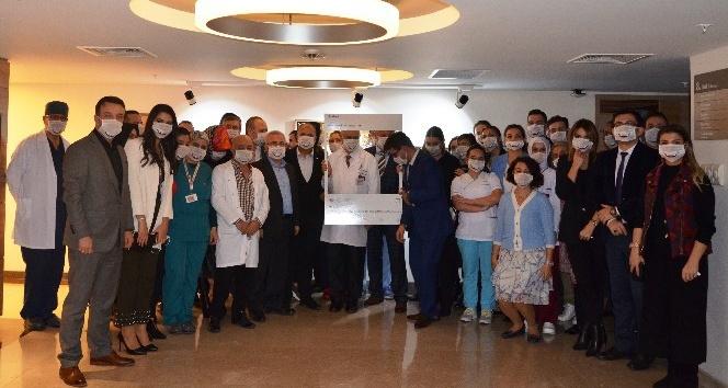 1200 kişilik hastane personelinden donör bağışı