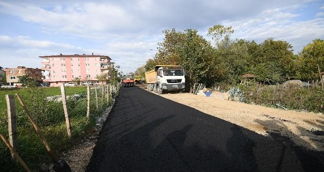 Altınordu'da 82 km asfalt seferberliği