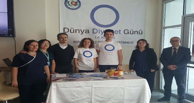 """Kırklareli'nde """"Dünya Diyabet Günü"""" nedeniyle etkinlikler düzenlendi"""