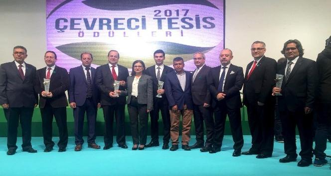 Denizli'den 5 tesise çevre ödülü