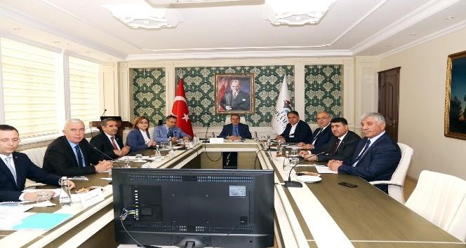 İKA yönetim kurulu Adıyaman'da toplandı