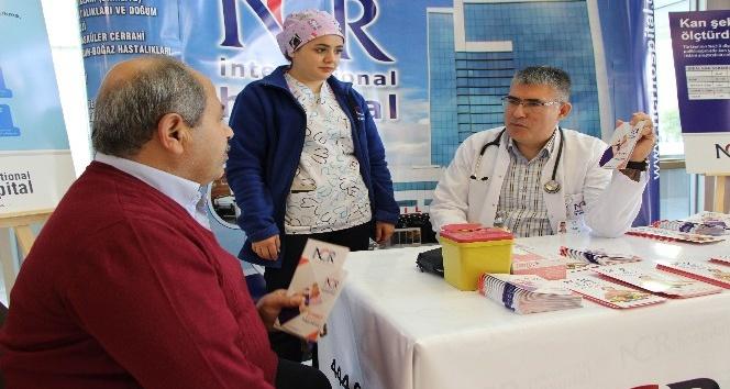 NCR'de diyabet standı açıldı
