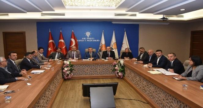 AK Parti il yönetimi toplandı