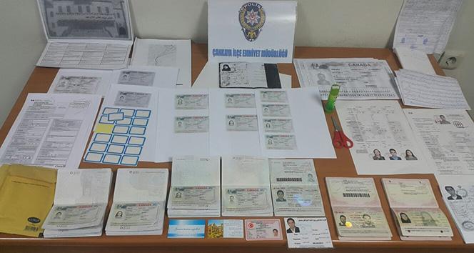 Ankarada sahte vize dolandırıcıları yakalandı