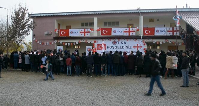 TİKAdan Gürcistandaki okula destek