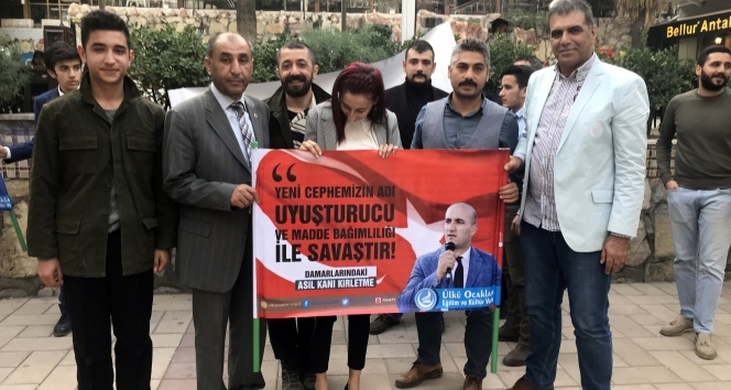 Ülkü Ocakları ve UTESKON'dan madde bağımlılığına karşı farkındalık kampanyası