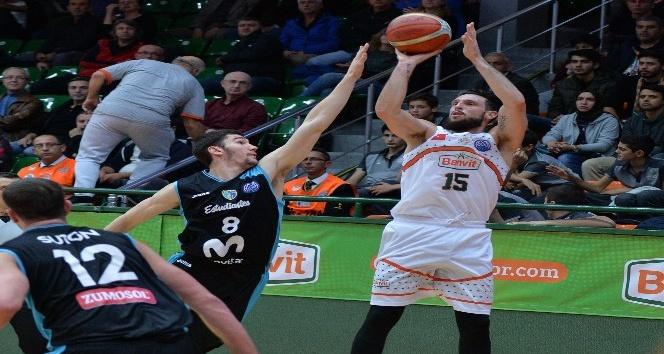 FIBA Şampiyonlar Ligi: Banvit: 82 - Estudiantes: 80