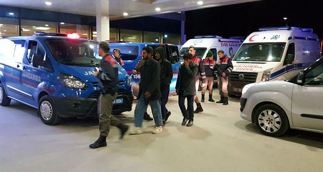 Düzcede 10 mülteci yakalandı