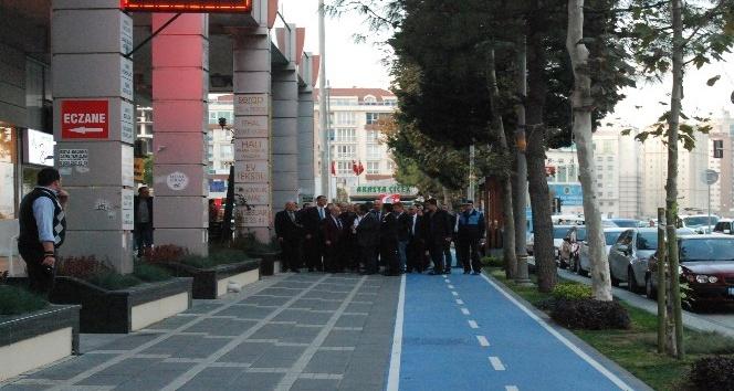 Büyükçekmece'nin Yavuz Sultan Selim Bulvarı'ndaki prestij caddesi tamamlandı