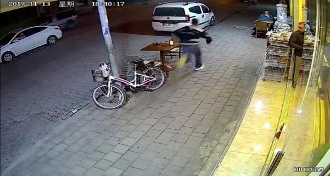 Kapkaççıyı vatandaş böyle kovaladı