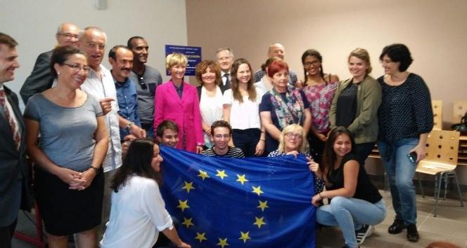 Erasmus kapsamında Fransa ve Polonya'ya gittiler