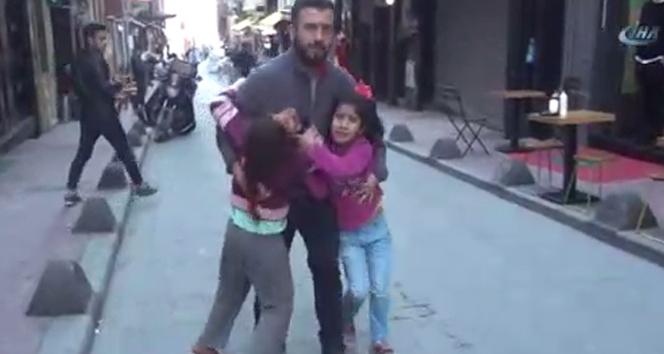 Taksim Meydanında dilenci operasyonu