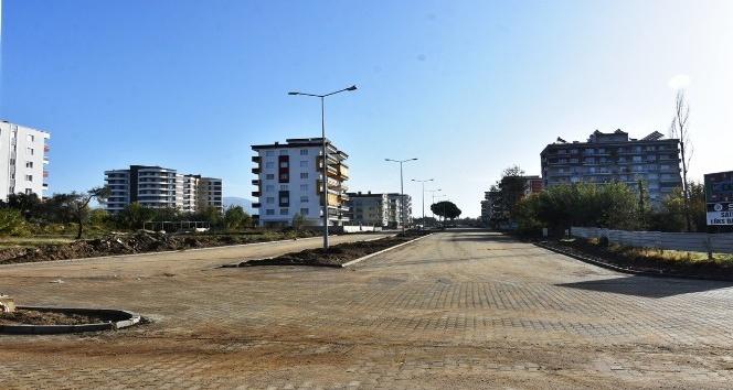 Nazilli Belediyesi yol yapım çalışmalarına hız kesmeden devam ediyor