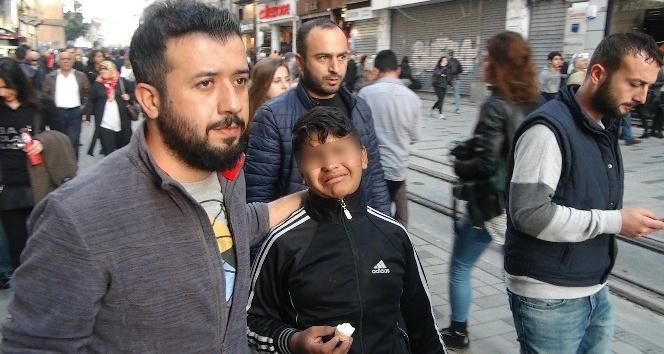 (Özel Haber) Taksim Meydanı'nda dilenci operasyonu
