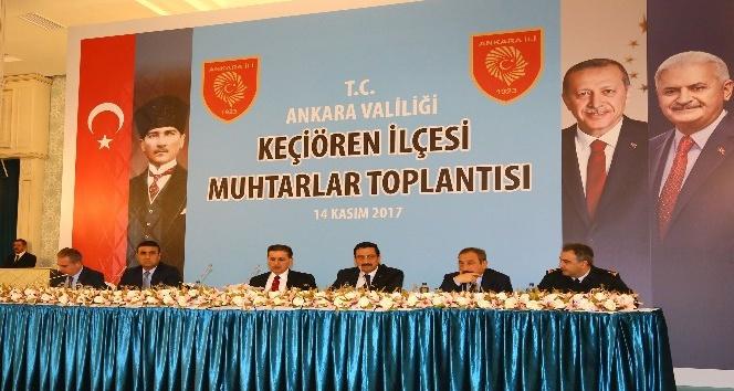 Ankara'da 51 mahalle muhtarı taleplerini iletti