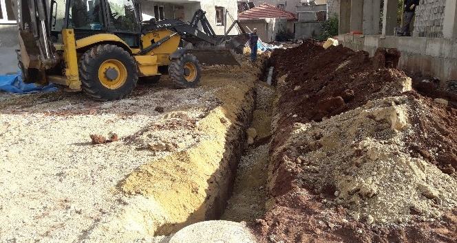 İmara yeni açılan yerler kanalizasyona kavuşuyor