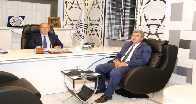 Şambayat Belediye Başkanı Arıcı'dan Başkan Kutlu'ya Ziyaret