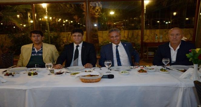 TÜRSAB Başkan adayları Alanya'da acente temsilcileriyle bir araya geldi