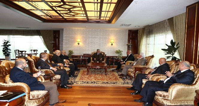ATO Başkanı Baran'dan Büyükşehir Belediye Başkanı Tuna'ya ziyaret