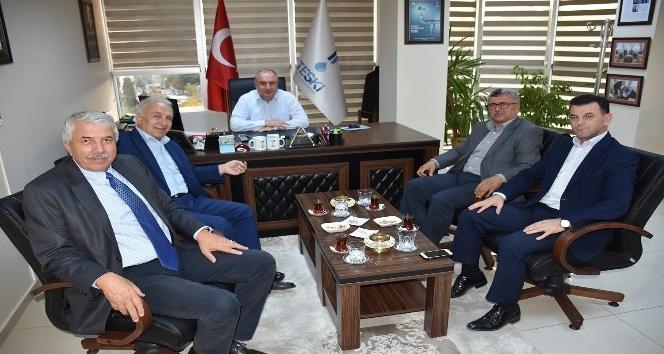TESKİ Genel Müdürü Başa, belediye meclis üyelerini ağırladı