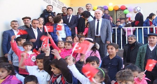 Hayırsever işadamı tarafından yaptırılan okul eğitime açıldı