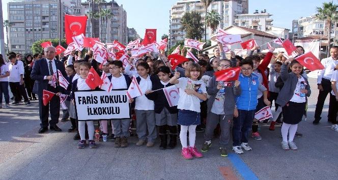 Yavru vatan KKTC'nin Cumhuriyet Bayramı Mersin'de törenle kutlandı