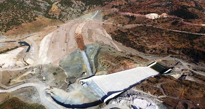 Yukarı Afrin Barajı yapımı sürüyor