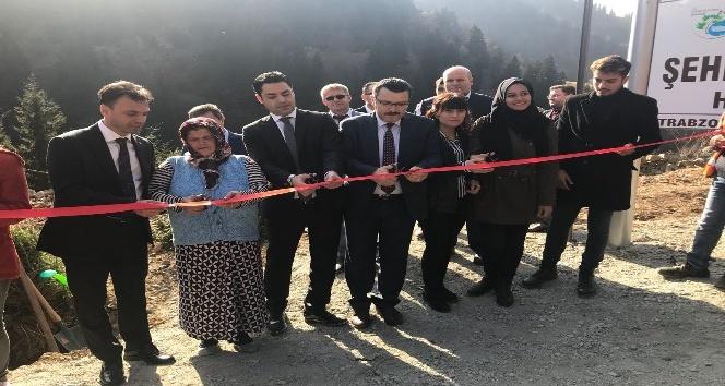 Şehit Eren Bülbül'ün anısına hatıra ormanı oluşturuldu